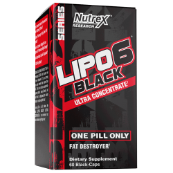 Nutrex Lipo 6 Black Ultra Concentrate 60 caps.