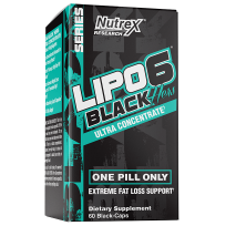 Nutrex Lipo-6 Black Hers Ultra Concentrate 60 caps.