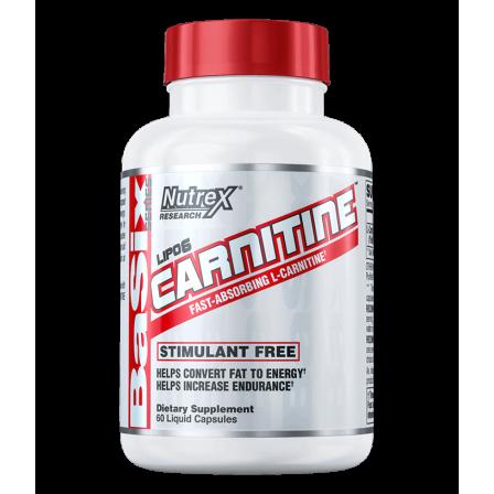 Nutrex Lipo-6 Carnitine 60 Liquid Caps.
