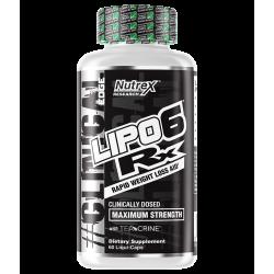 Nutrex Lipo 6 RX 60 Liquid Capsules