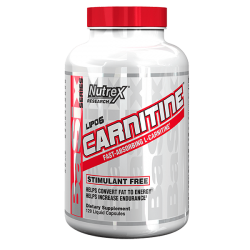 Nutrex Lipo-6 Carnitine 120 Liquid Caps.