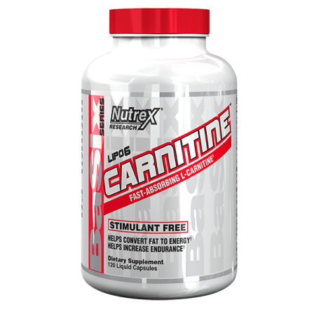 Nutrex Lipo-6 Carnitine 120 Liquid Caps.