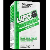 Nutrex Lipo-6 Natural 60 vcaps.
