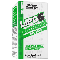 Nutrex Lipo-6 Natural 60 vcaps.