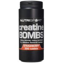 Nutrisport Creatine Bombs 300 tabs.