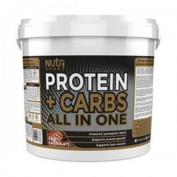 Nutrisport Protein + Carbs 5000 gr.