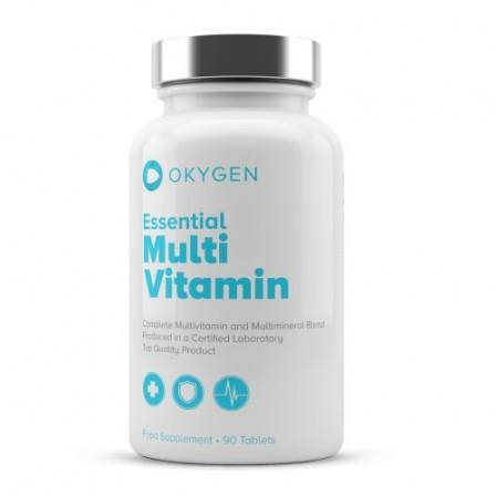Okygen Essential Multivitamin 90 tabs.