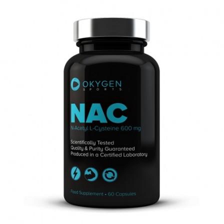 Okygen NAC - N-Acetyl L-Cysteine 60 Caps.