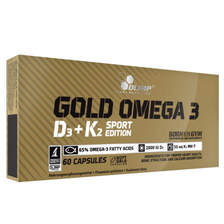 Olimp Gold Omega 3 D3 + K2 60 caps.