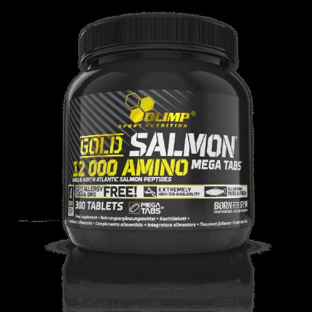 Olimp Gold Salmon 12000 Amino Mega Tabs 300 tabs.