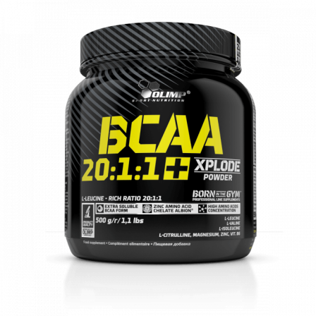 Olimp BCAA 20:1:1 Xplode Powder 500 gr.