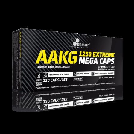 Olimp AAKG 1250 Extreme Mega Caps 120 caps.