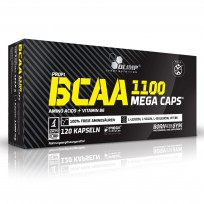 Olimp BCAA Mega Caps 1100 120 caps.