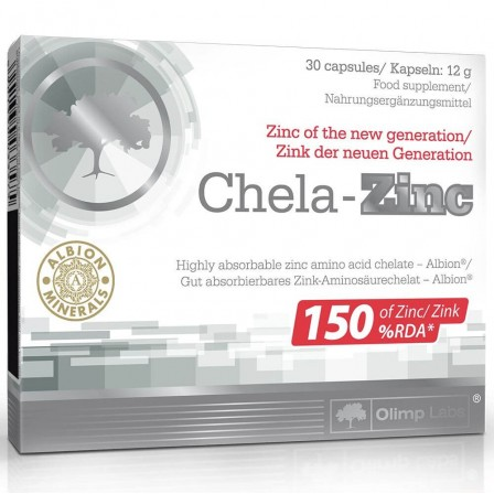 Olimp Chela-Zinc 30 caps.