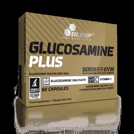 Olimp Glucosamine Plus Sport Edition 60 caps.