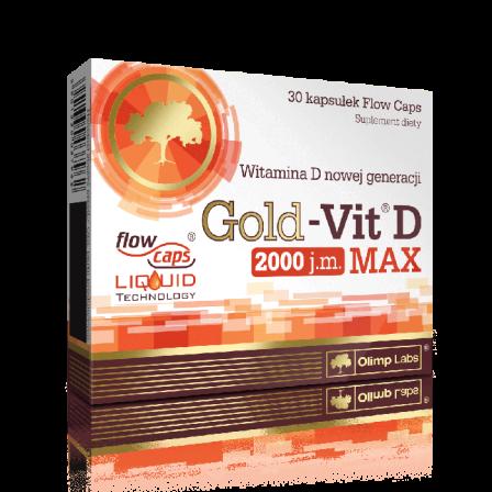 Olimp Gold-Vit D MAX 2000 IU 30 caps.