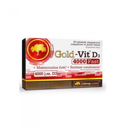Olimp Gold-Vit D3 4000 Fast 30 tabs.