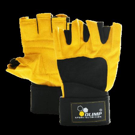 Olimp Hardcore Raptor Gloves Yellow / Фитнес Ръкавици