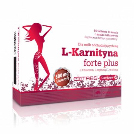 Olimp Labs L-Carnitine Forte Plus 80 tabs.