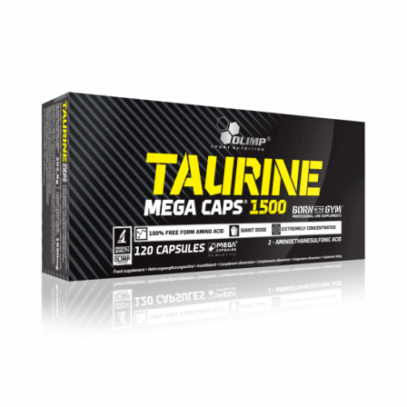 Olimp Taurine 1500 mg. 120 caps.