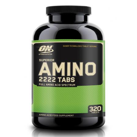 Optimum Nutrition Superior Amino 2222 320 tabs.
