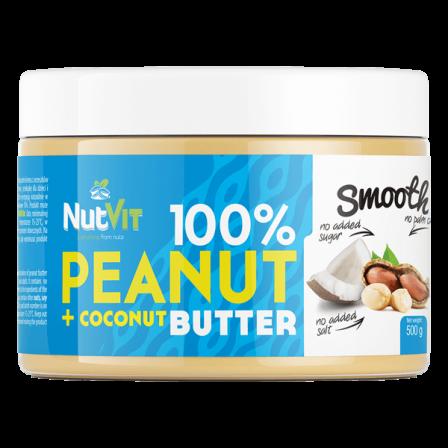 NutVit Peanut Butter + Coconut 500 gr.
