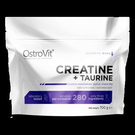 OstroVit Creatine + Taurine 700 gr.