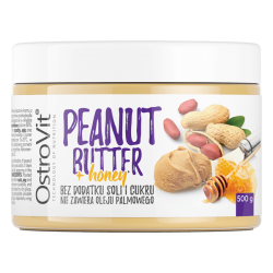 OstroVit Peanut Butter + Honey 500 gr.