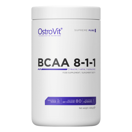 OstroVit BCAA 8:1:1 400 gr. Unflavoured