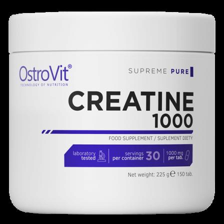OstroVit Creatine Monohydrate 1000 150 tabs.