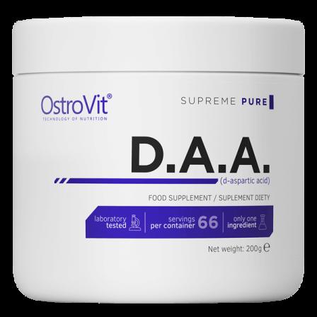 OstroVit D-Aspartic Acid / DAA 200 gr.