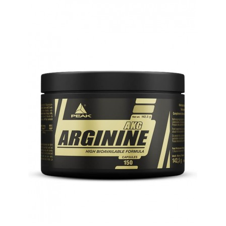 Peak Arginine AAKG 150 caps.
