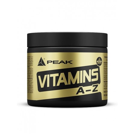 Peak Vitamins A-Z 180 caps.