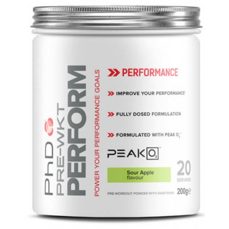 PhD Pre Workout Perform 200 gr.