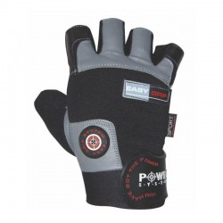 Power System Easy Grip Black/Grey - Фитнес Ръкавици
