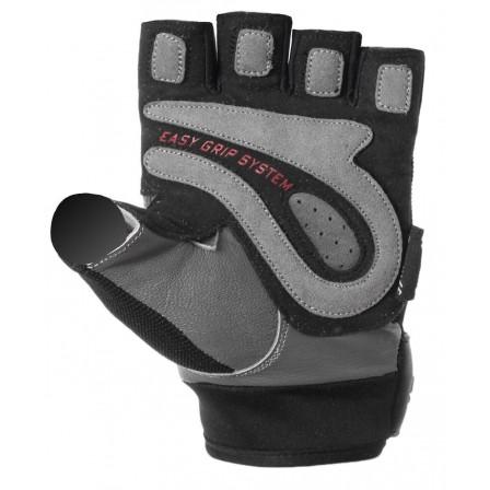 Power System Easy Grip Black/Grey - Фитнес Ръкавици