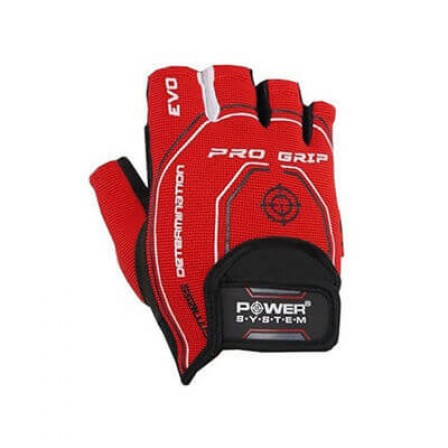 Power System Pro Grip Evo Red / Фитнес Ръкавици