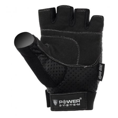 Power System Power Plus Black / Фитнес Ръкавици
