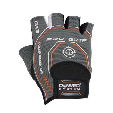 Power System Pro Grip Evo Grey / Фитнес Ръкавици
