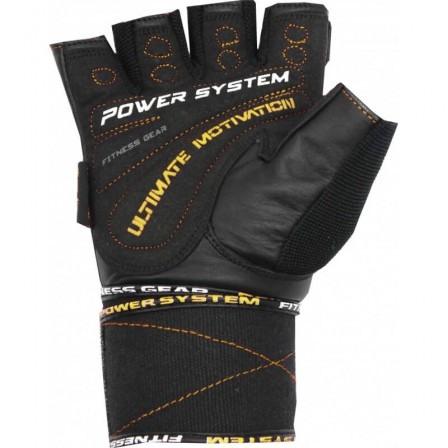 Power system Ultimate Motivation Yellow / Фитнес Ръкавици