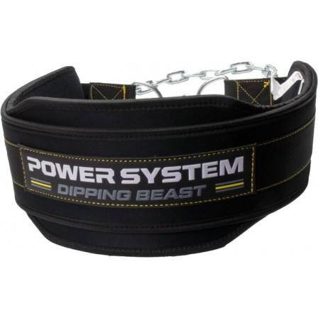 Power System Dipping Beast Belt Yellow - Колан за вдигане на тежести