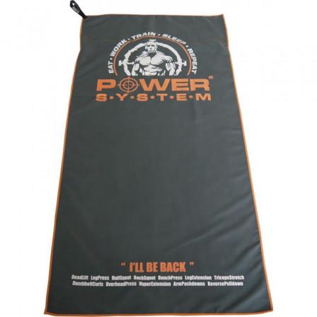 Power System Bench Towel Men - Микрофибърна тренировъчна кърпа