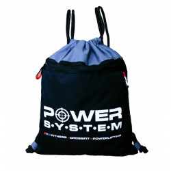 Power System Gym Sack Alpha Black-Grey - Спортна чанта