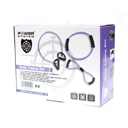 Power System Toning Tube Set -  Комплект ластици
