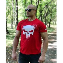 Тениска The Punisher Red
