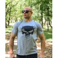 Тениска The Punisher Gray