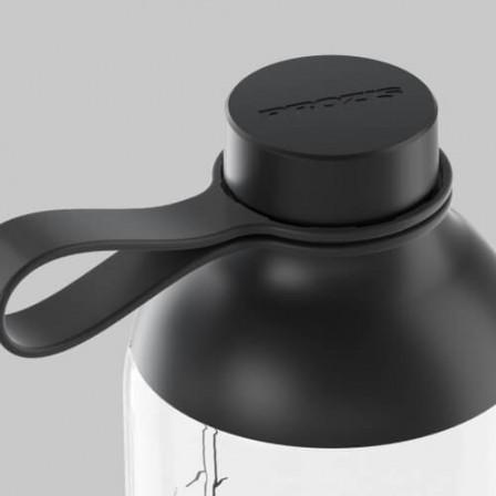 Prozis Fusion Bottle Cristal - Black 600 ml.
