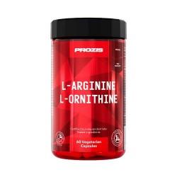 Prozis L-Arginine L-Ornithine 500 mg. 60 caps.