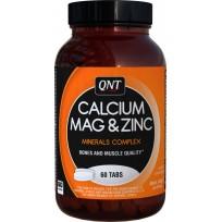 QNT Calcium Magnesium Zinc 60 tabs.