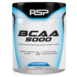 RSP Nutrition BCAA 5000 300 gr.